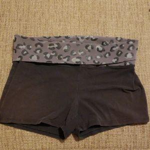 PINK. shorts. Size large